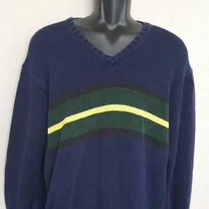 Men's long sleeve Polo sweater